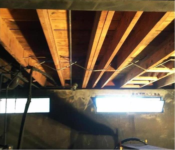 Elkhorn Charred Joists in a Basement? After