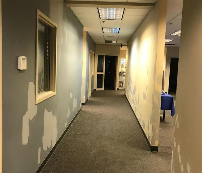 Commercial Water Damage Restoration in Omaha Before