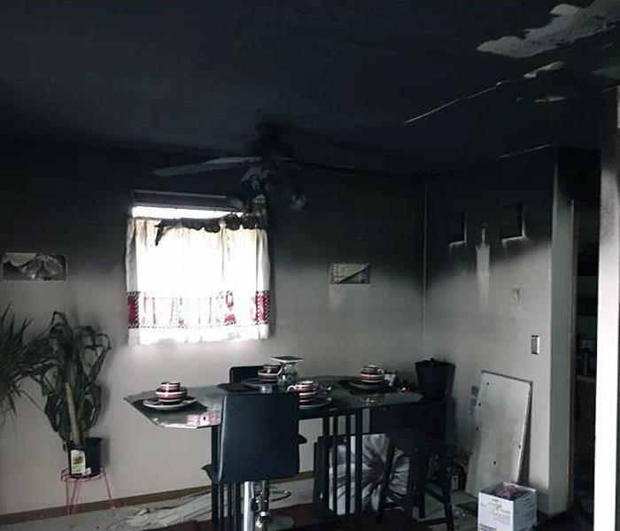 Fire Damage Repair And Restoration In Elkhorn Before