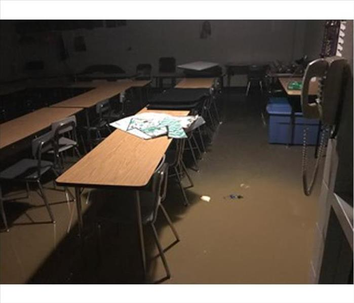 Class Dismissed Until After Water Removal