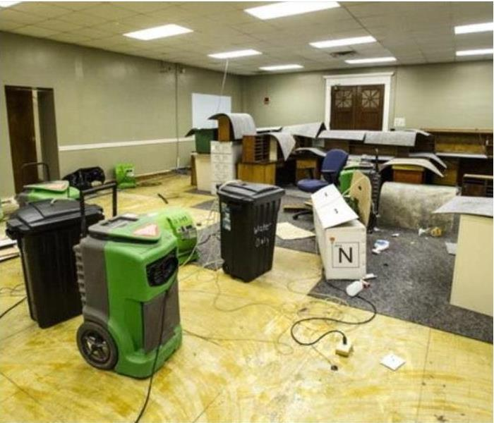 Omaha Water Damage to Offices is Common
