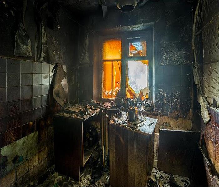 Fire Damage When A Fire Destroys Your Omaha Home, You Need Help From A Professional Restoration Company Like SERVPRO!