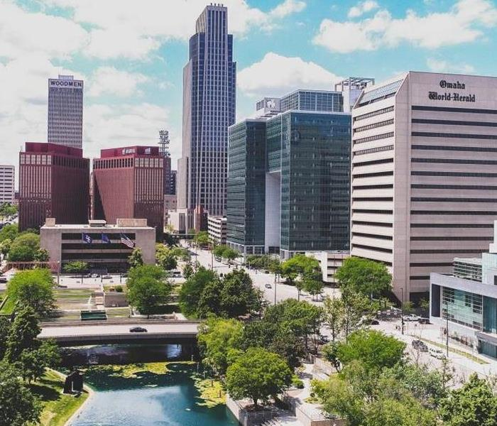 Picture of buildings in downtown Omaha